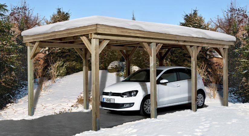 carport hiver